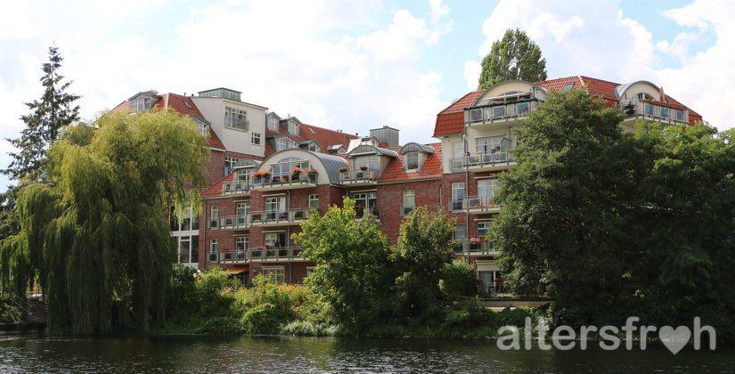 Wasserlage des im Senioren- und Therapiezentrums Haus Havelblick in Berlin