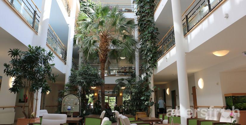 Das Atrium in der Seniorenresidenz Haus Pankow in Berlin