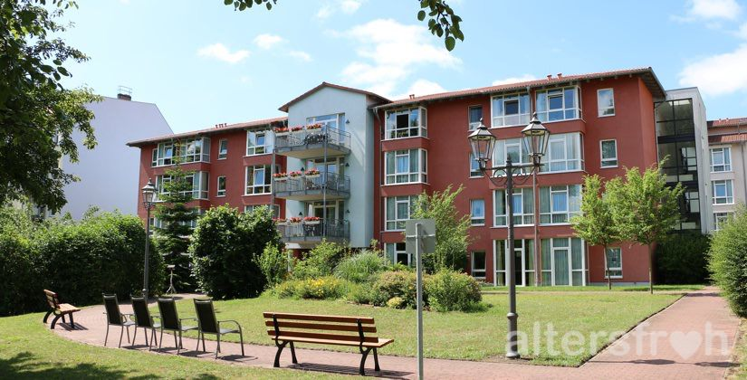 Blick auf die Seniorenresidenz Haus Pankow in Berlin