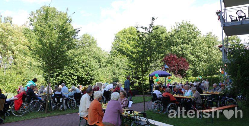 Sommerfest 2015 in der Seniorenresidenz Haus Pankow in Berlin