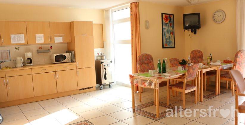 Wohnküche in der Seniorenresidenz Haus Pankow in Berlin