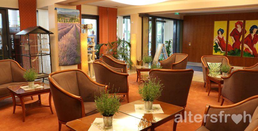 Empfangsbereich der zur Seniorenstiftung Prenzlauer Berg gehörenden Pflegeeinrichtung Haus 26