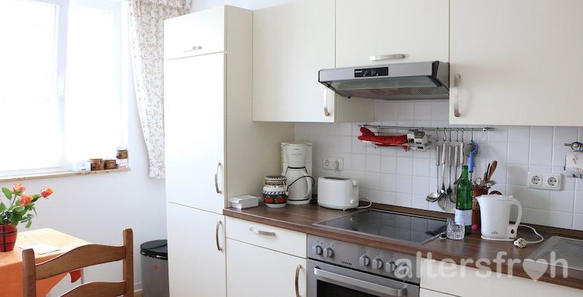Küche im Service-Wohnen City-Quartier in Potsdam