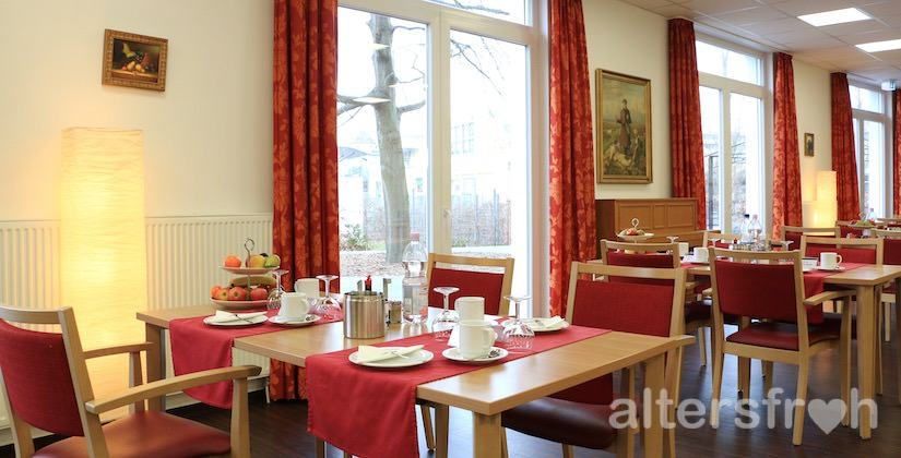Restaurant im Service-Wohnen City-Quartier in Potsdam