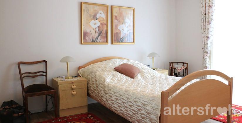 Schlafzimmer im Service-Wohnen City-Quartier in Potsdam