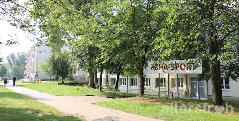 Physiotherapie neben dem Service-Wohnen Waldstadt in Potsdam