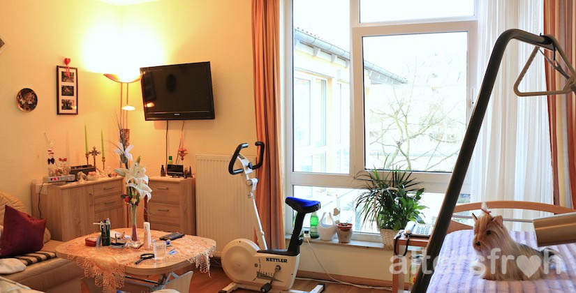 Einzelzimmer im Vitanas Senioren Centrum Am Obersee in Berlin