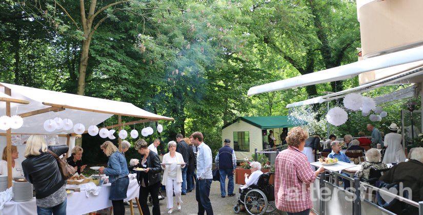 Sommerfest im Vitanas Senioren Centrum Am Stadtpark in Berlin Steglitz-Zehlendorf