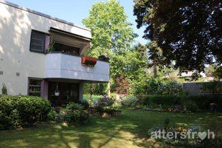 Blick auf das Service-Wohnen des Vitanas Senioren Centrums Schäferberg